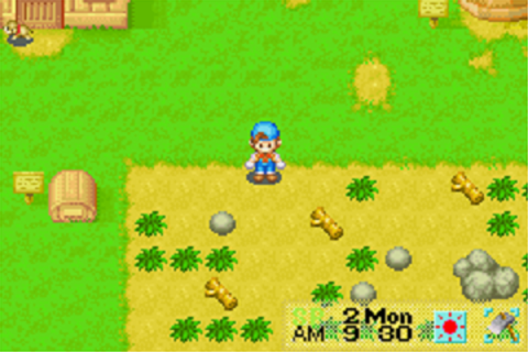 Harvest Moon - Friends of Mineral Town (U)(Mode7) ROM Download