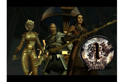 Прохождение Forgotten Realms: Demon Stone [Глава 1] - YouTube