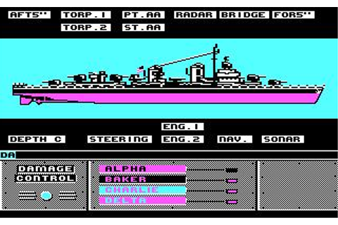 Destroyer Download (1987 Simulation Game)