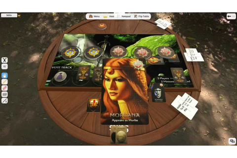 How to play The Resistance: Avalon (Tabletop Simulator ...