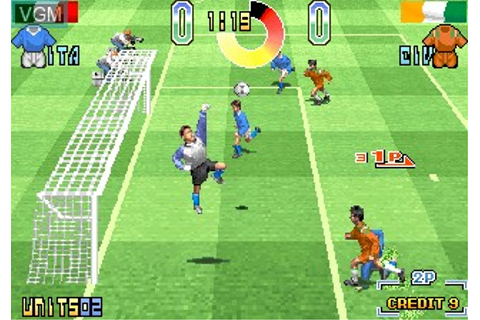 Taito Power Goal for MAME - The Video Games Museum
