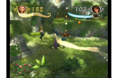 Disney Tangled: The Video Game обзор, Рапунцель ...