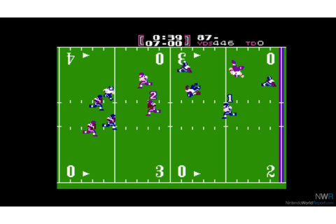 Tecmo Bowl - Game - Nintendo World Report