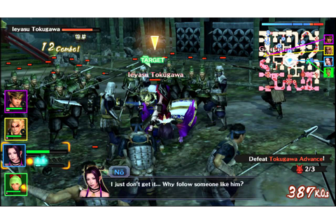 Samurai Warriors Chronicles 3 Vita Gameplay - YouTube
