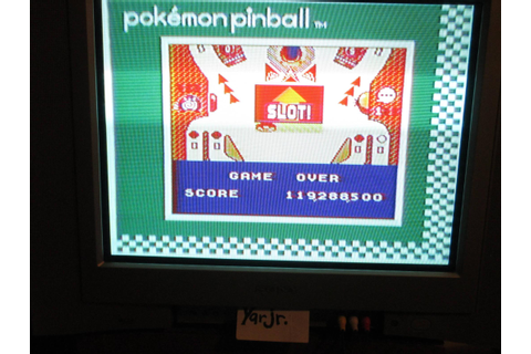 Pokemon Pinball (Game Boy) high score by yarjr