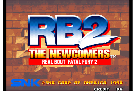 Real Bout Fatal Fury 2: The Newcomers ROM Download for Neo ...