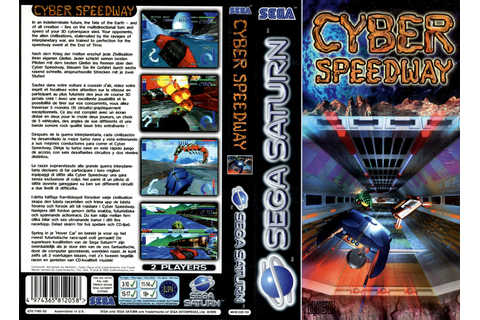 Sega Saturn C Cyber Speedway E Game Covers Box Scans Box ...