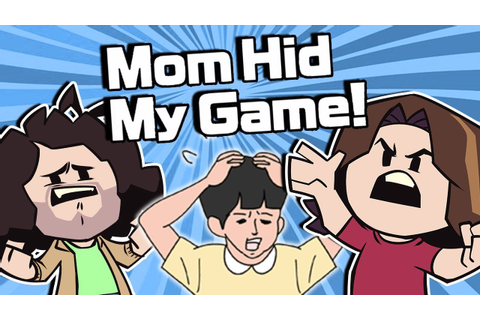 Mom Hid My Game - Game Grumps - YouTube