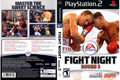 Extreme Games X PS2: Download - Fight Night Round 3 - PS2