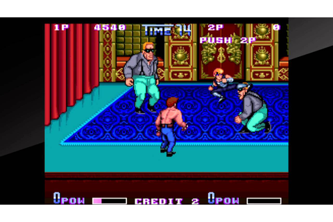 Arcade Archives DOUBLE DRAGON II The Revenge PS4 Part 2 ...