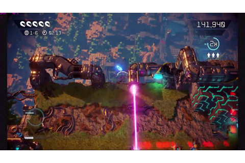 Nex Machina Gameplay (No commentary, Action, PC game ...