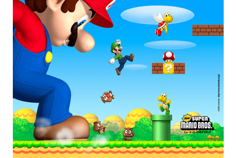 New Super Mario Bros Coming To North American Wii U ...