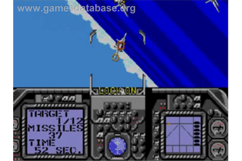 G-Loc Air Battle - Sega Game Gear - Games Database