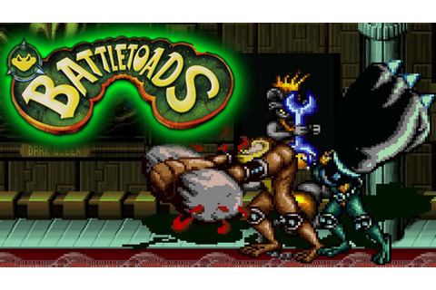 Battletoads Arcade Playthrough Co op Longplay Rare Re-Play ...