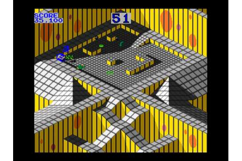 Marble Madness Arcade Atari 1984 - Finished - YouTube