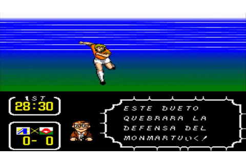 Captain Tsubasa 3 español GAMEPLAY PART 2 - YouTube