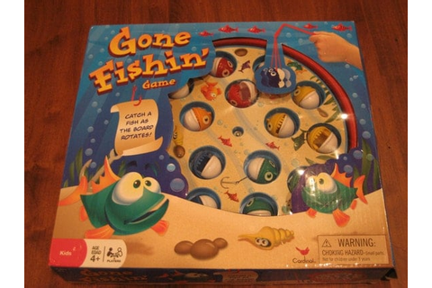 Fishing Game Gone Fishin' Game Children's game by ...