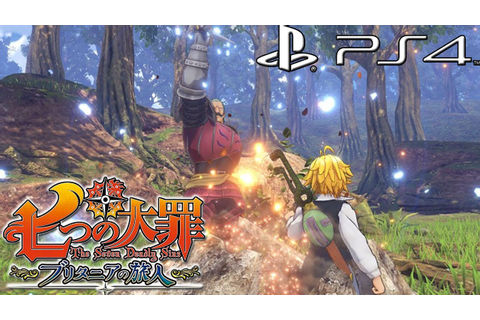 The Seven Deadly Sins: The Britannian Traveler PS4 Game ...