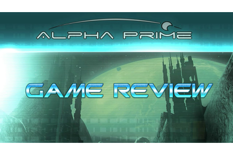 Alpha Prime - Game Review - YouTube