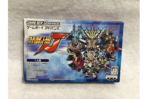 Super Robot Wars J GBA Nintendo Game boy Advance JAPAN ...