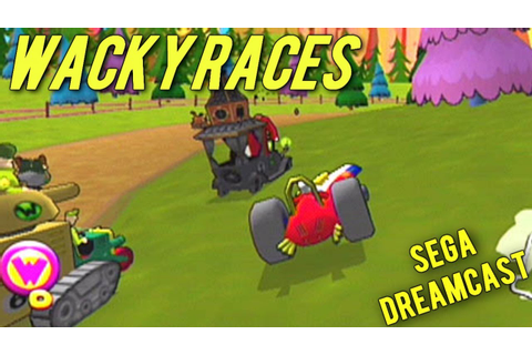 Wacky Races (Dreamcast Gameplay) with Commentary - YouTube