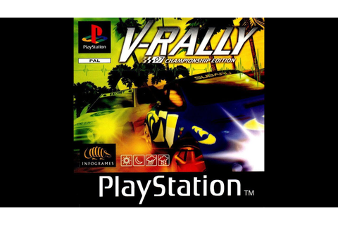 V-Rally PS1 Gameplay - YouTube