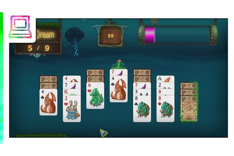 Faerie Solitaire Gameplay (Solitaire Game) - YouTube