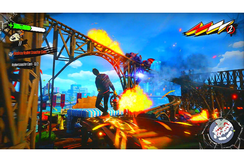 SUNSET OVERDRIVE Gameplay HD - YouTube