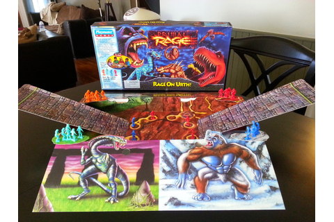 Primal Rage: Rage On Urth | A Board Game A Day