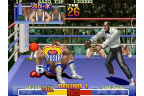Best Bout Boxing MAME Gameplay video Snapshot -Rom name ...