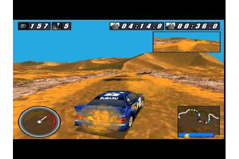 International Rally Championship gameplay (PC Game, 1997 ...