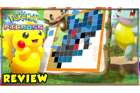 3DS Game Review - Pokemon Picross - YouTube