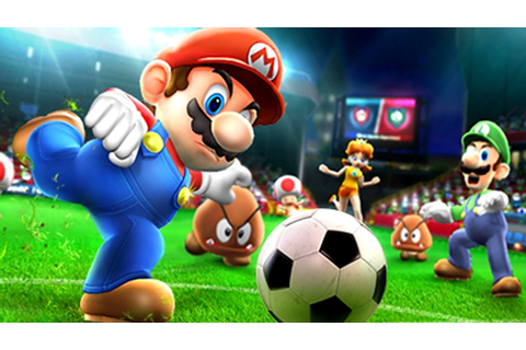 Mario Sports Superstars - All Characters Football Gameplay ...