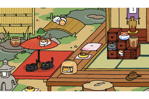 Cute cult cat-collecting app Neko Atsume is finally in ...
