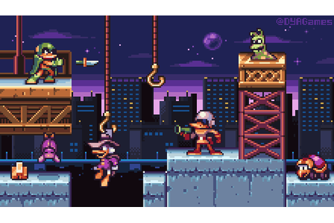 Pixel art remake of Darkwing Duck NES game! : DarkwingDuck