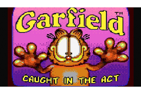 Garfield Caught in the Act: Sega Game Gear Gameplay - YouTube