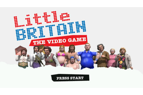 Little Britain: The Video Game Screenshots for PSP - MobyGames