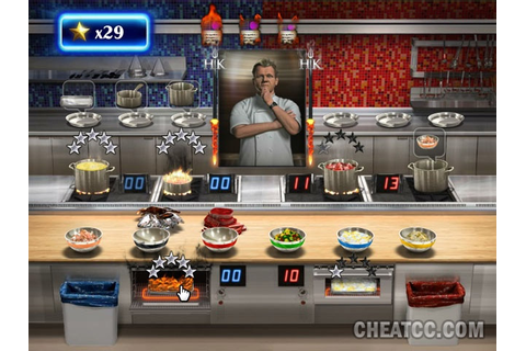 Hell's Kitchen Review for the Nintendo Wii