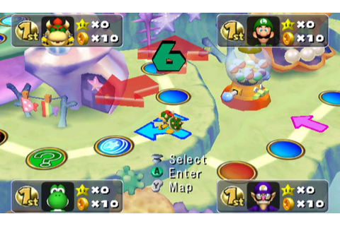 Mario Party 5 - GameCube trucchi