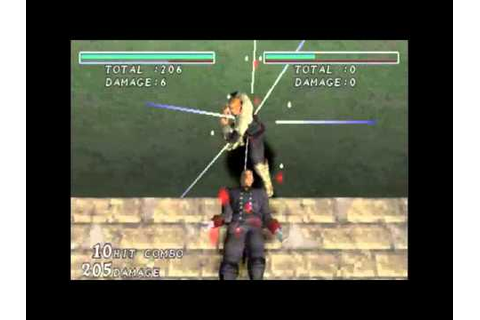 Destrega - KOEI - PlayStation - Combos - YouTube