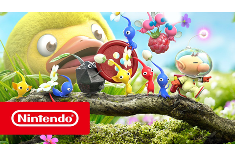 Hey! PIKMIN - Launch Trailer (Nintendo 3DS) - YouTube