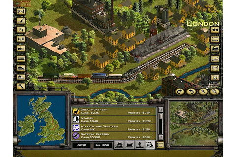 Railroad Tycoon 2 - PC Full Version Free Download