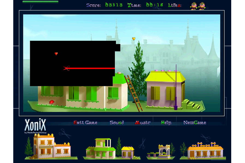 RoboToys Xonix - Download Xonix game - Free Xonix Download