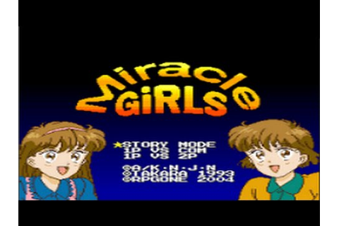 Gameplay Miracle Girls (SNES) - YouTube