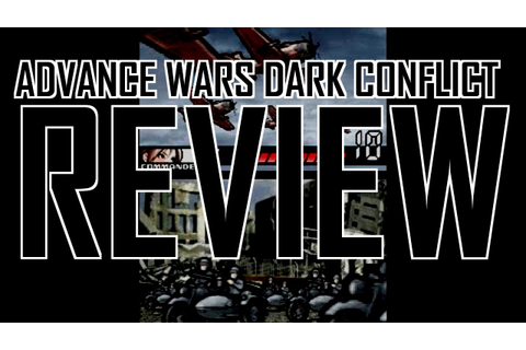 Advance Wars Dark Conflict review - YouTube