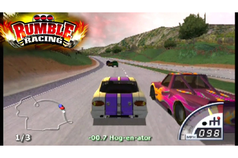 Rumble Racing ... (PS2) - YouTube