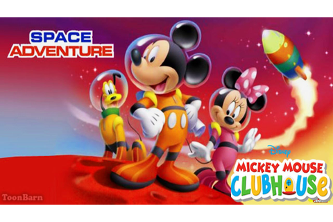 Mickey Mouse Clubhouse - Space Adventure Treasure Hunt ...