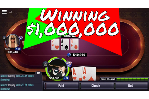 How To Win $1,000,000 + (World Series of Poker) WSOP App ...
