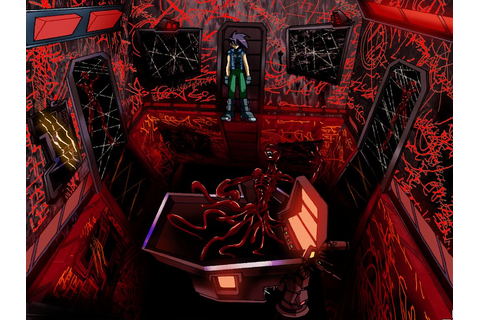 Designing Horror: The White Chamber | this cage is worms