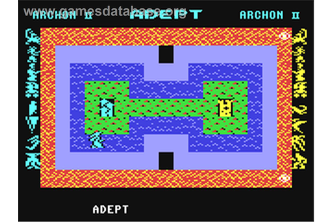 Archon II: Adept - Commodore 64 - Games Database